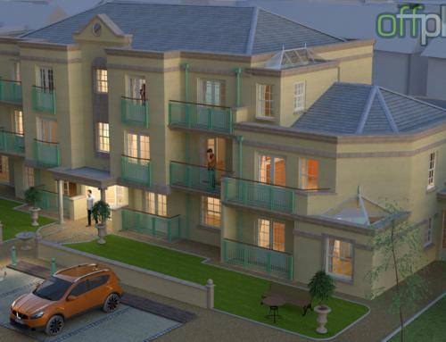 Newport apartment complex