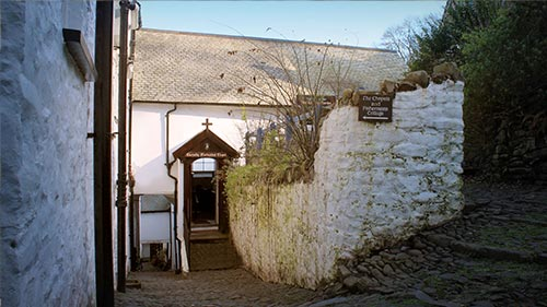 Clovelly Devon visitor center video