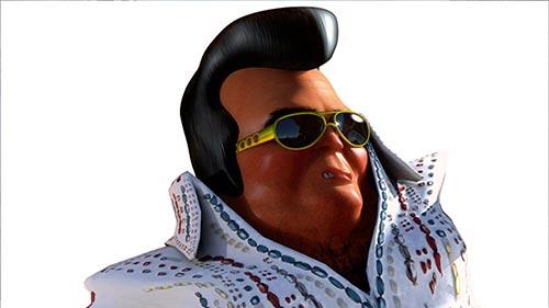 Elvis Thumb