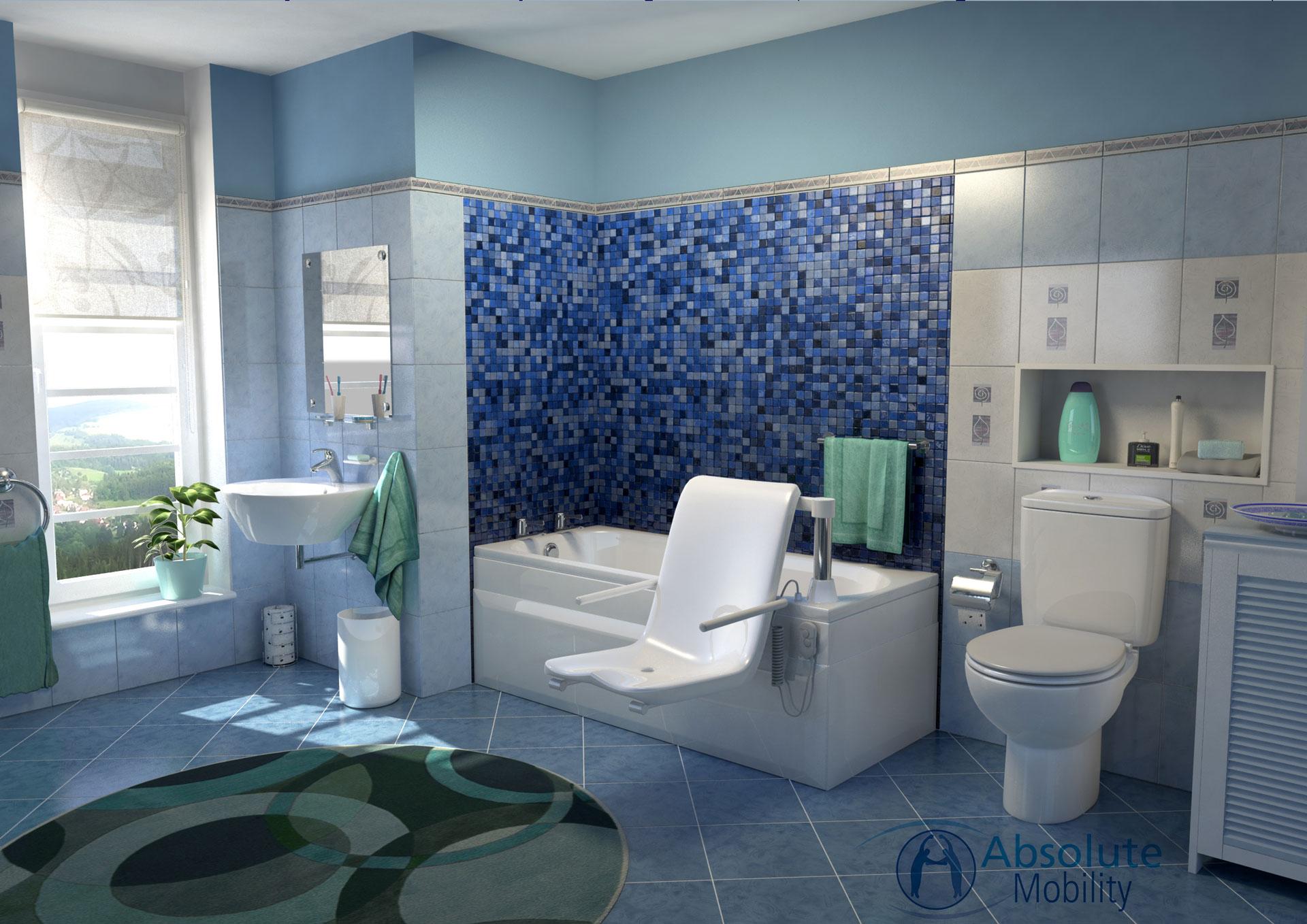 bathroom CGI rendering