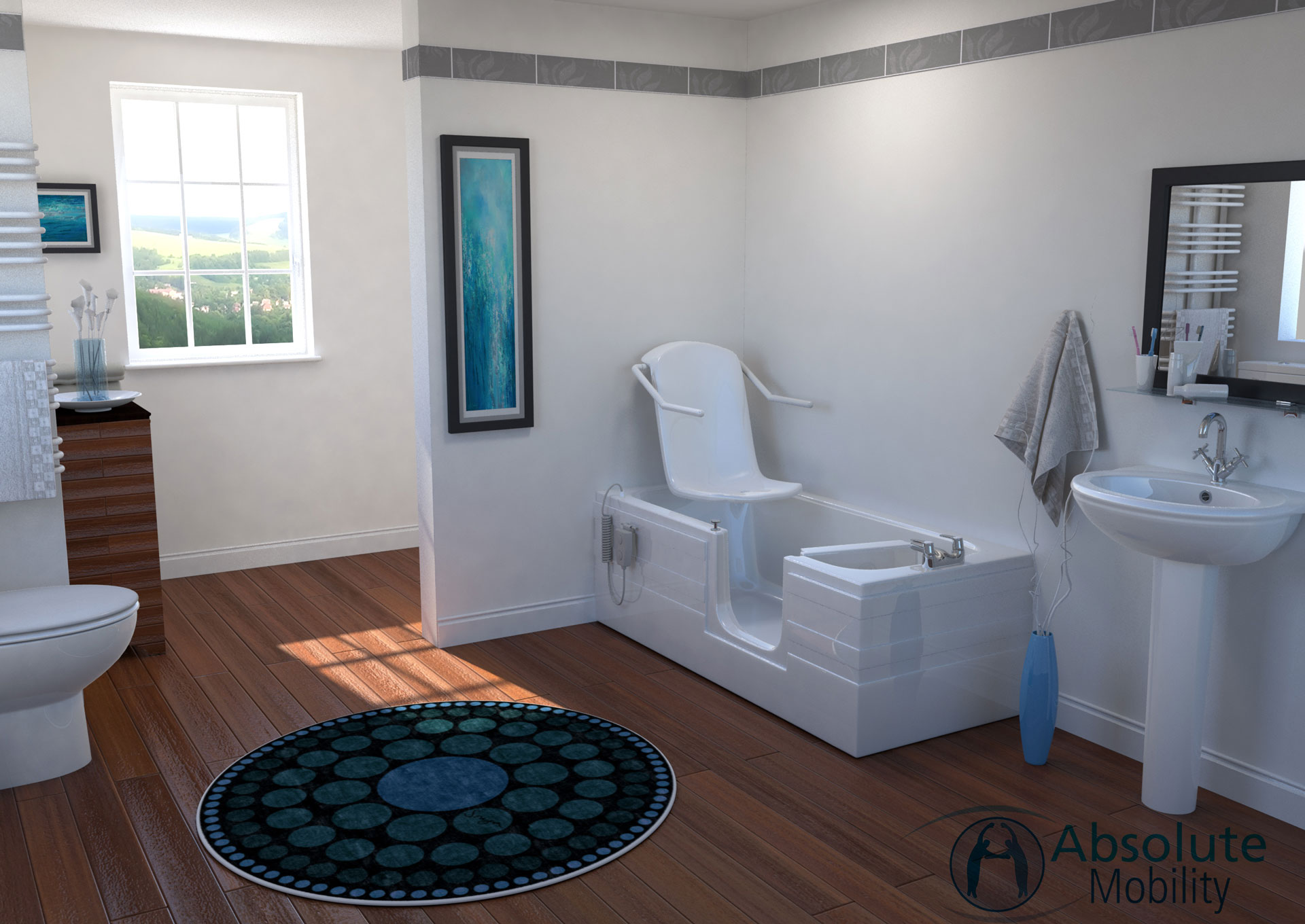 bathroom VR image