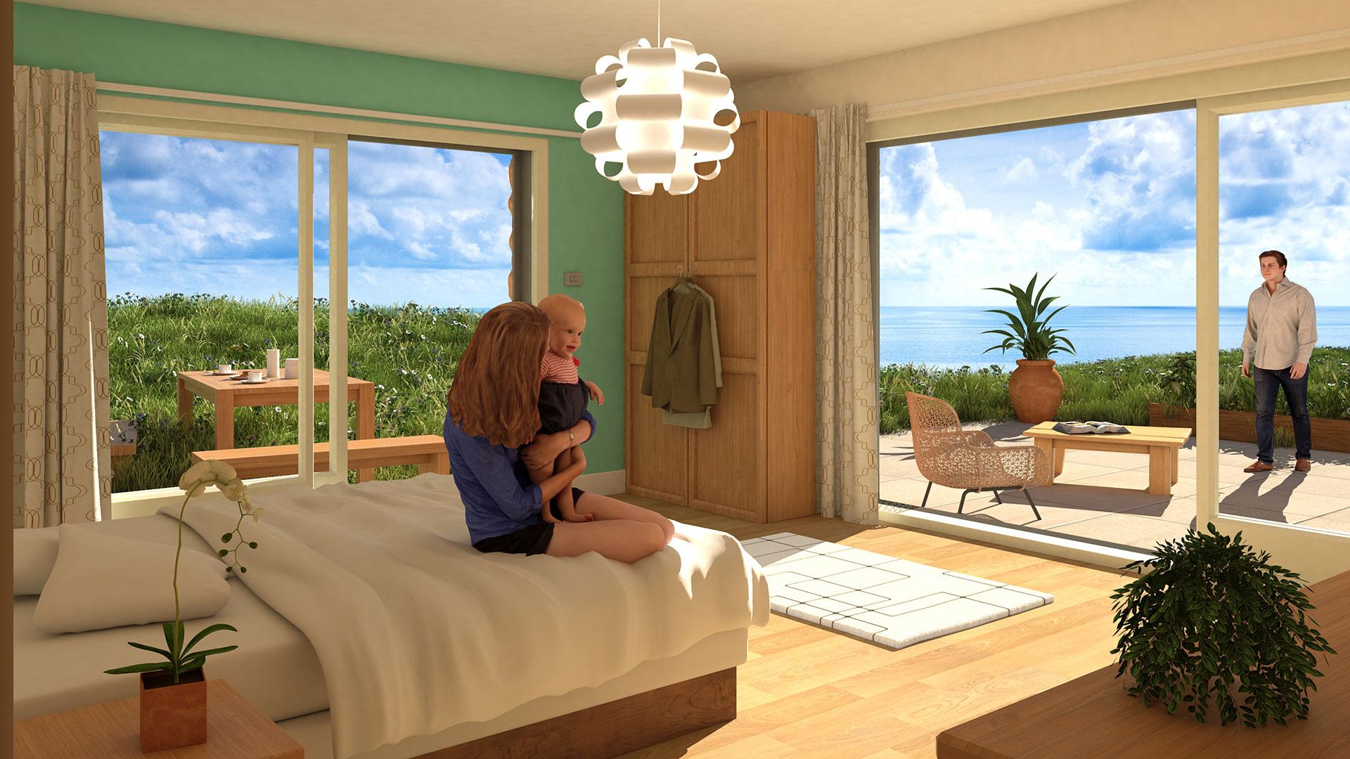 Architectural CGI visualisation image