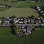 Archviz aerial photo