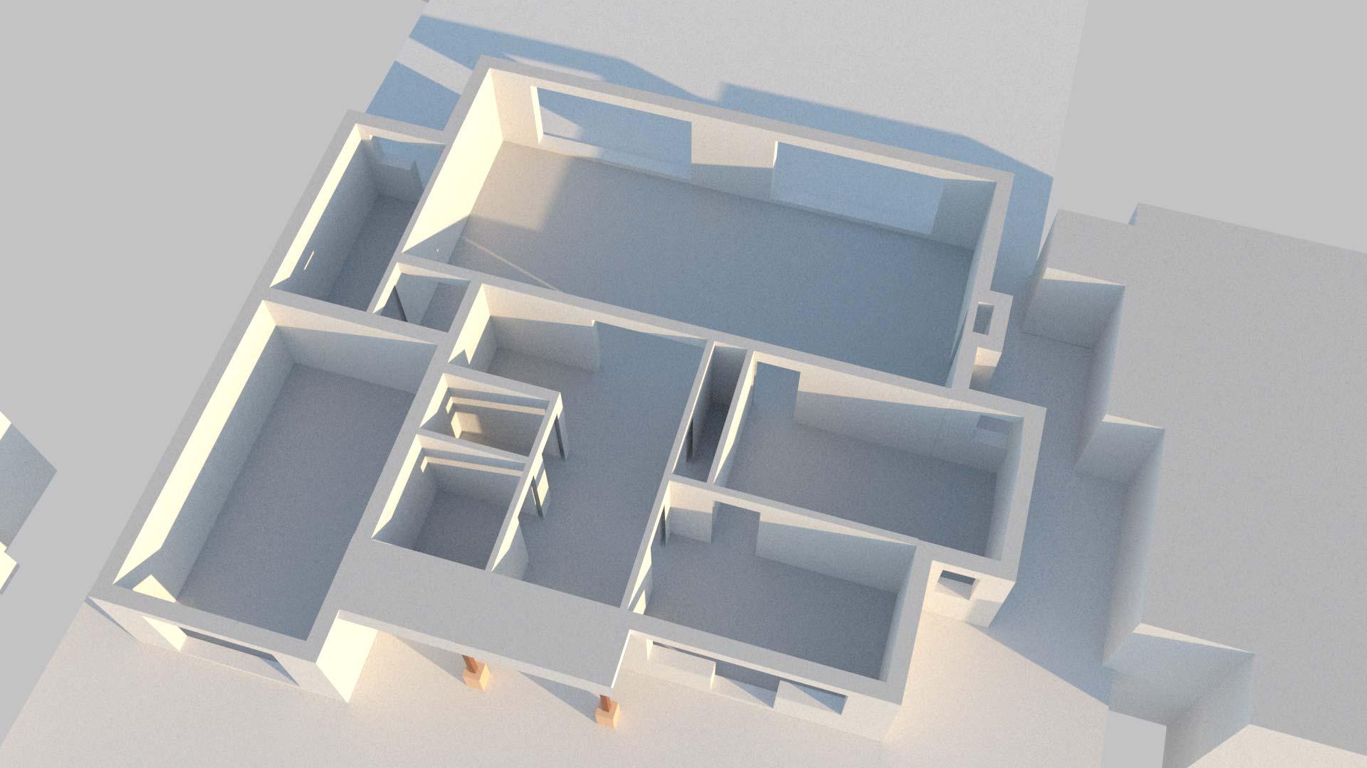 architectural CGI basic sunlight