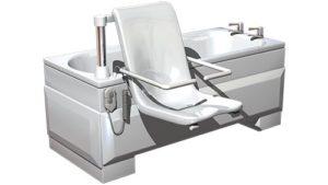 still CGI image of bath