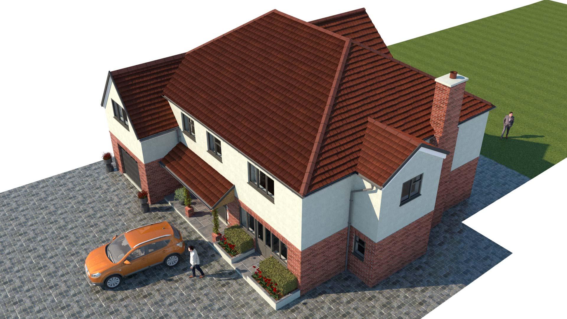 property marketing CGI rendering