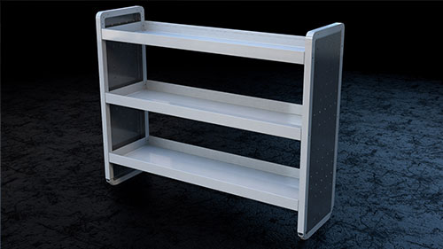 shelf CAD image