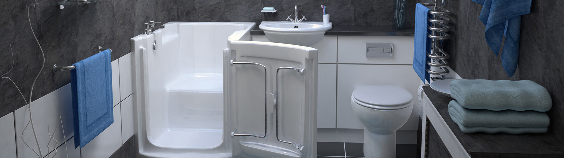3D Product Visualization of bath and shower fittings