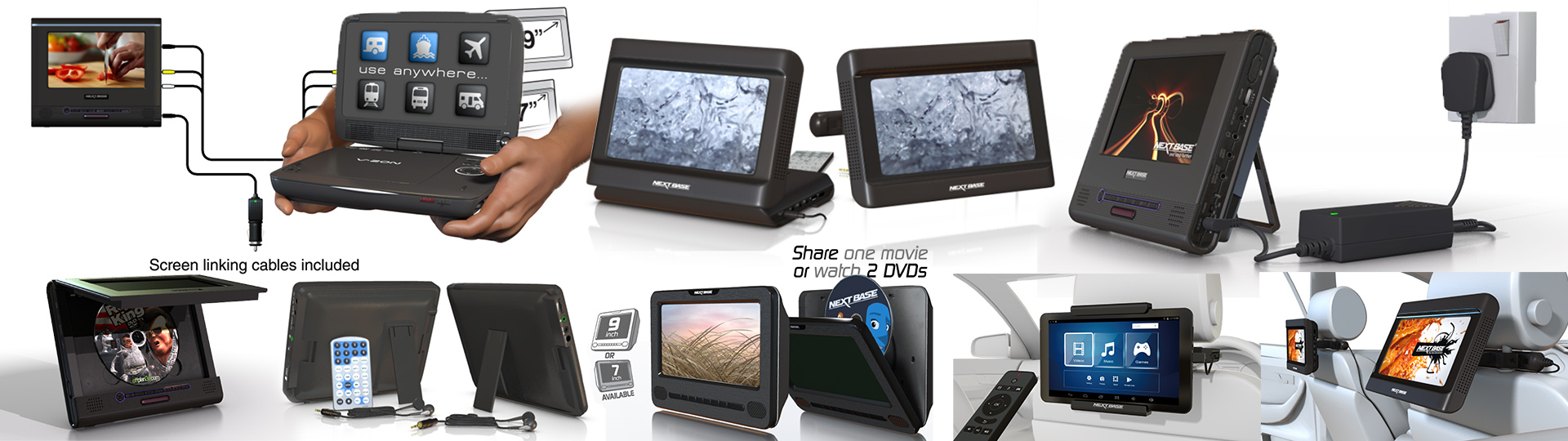 3D Product Visualization of consumer electronics images