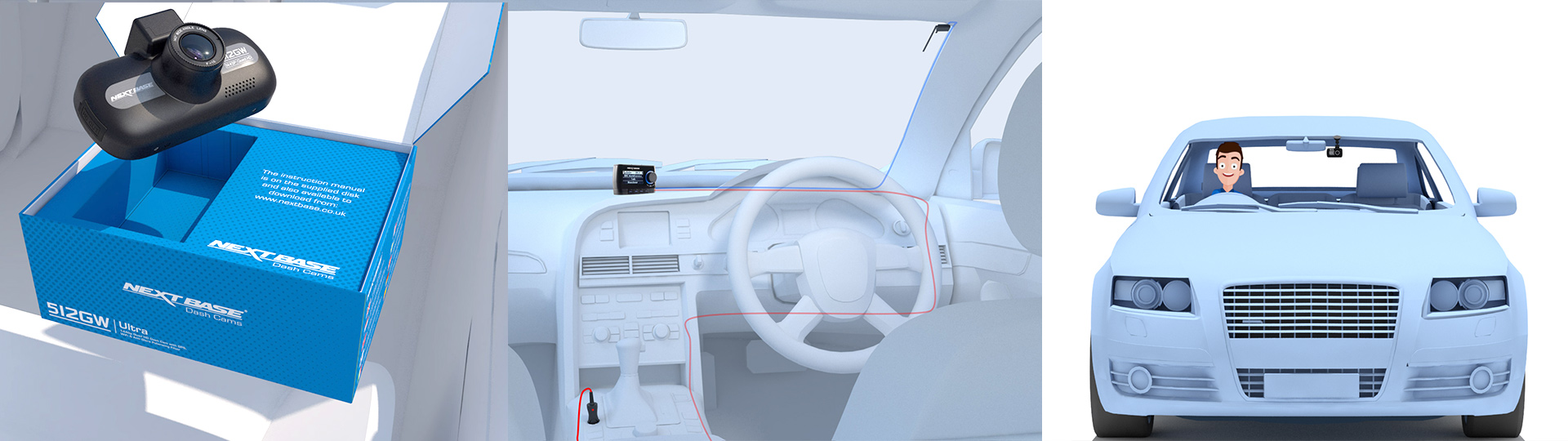3D Product Visualization of car interior