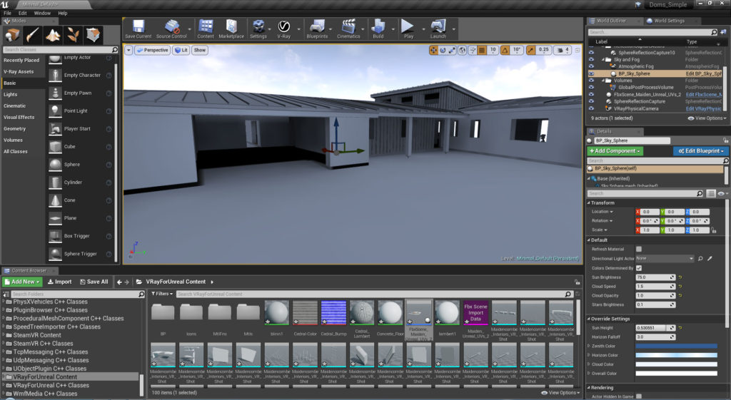 Unreal engine 3d online model viewer