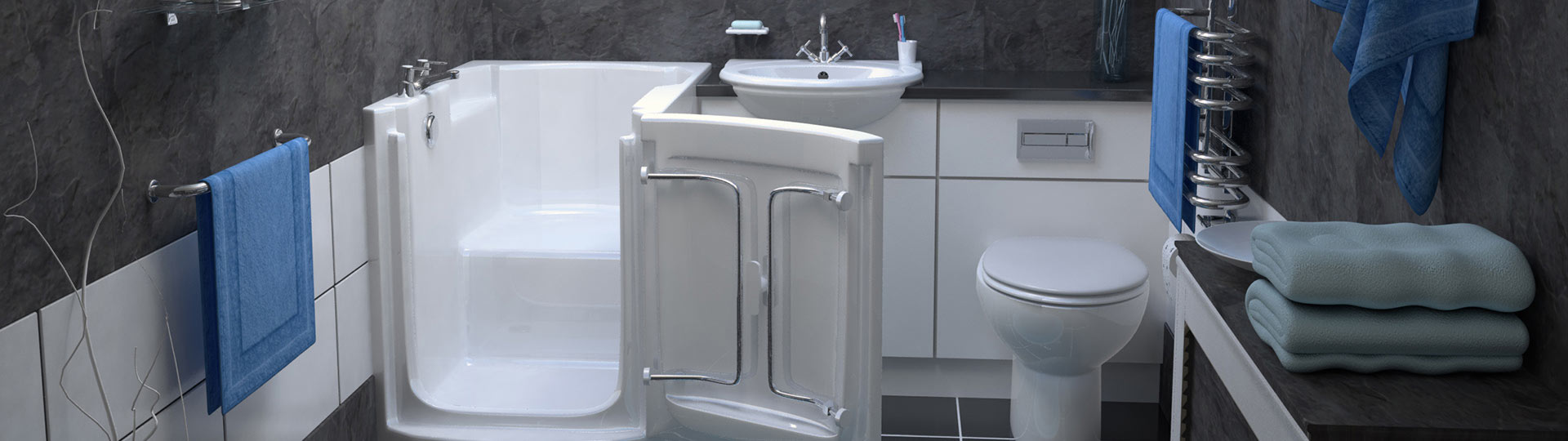 bathroom 3d render