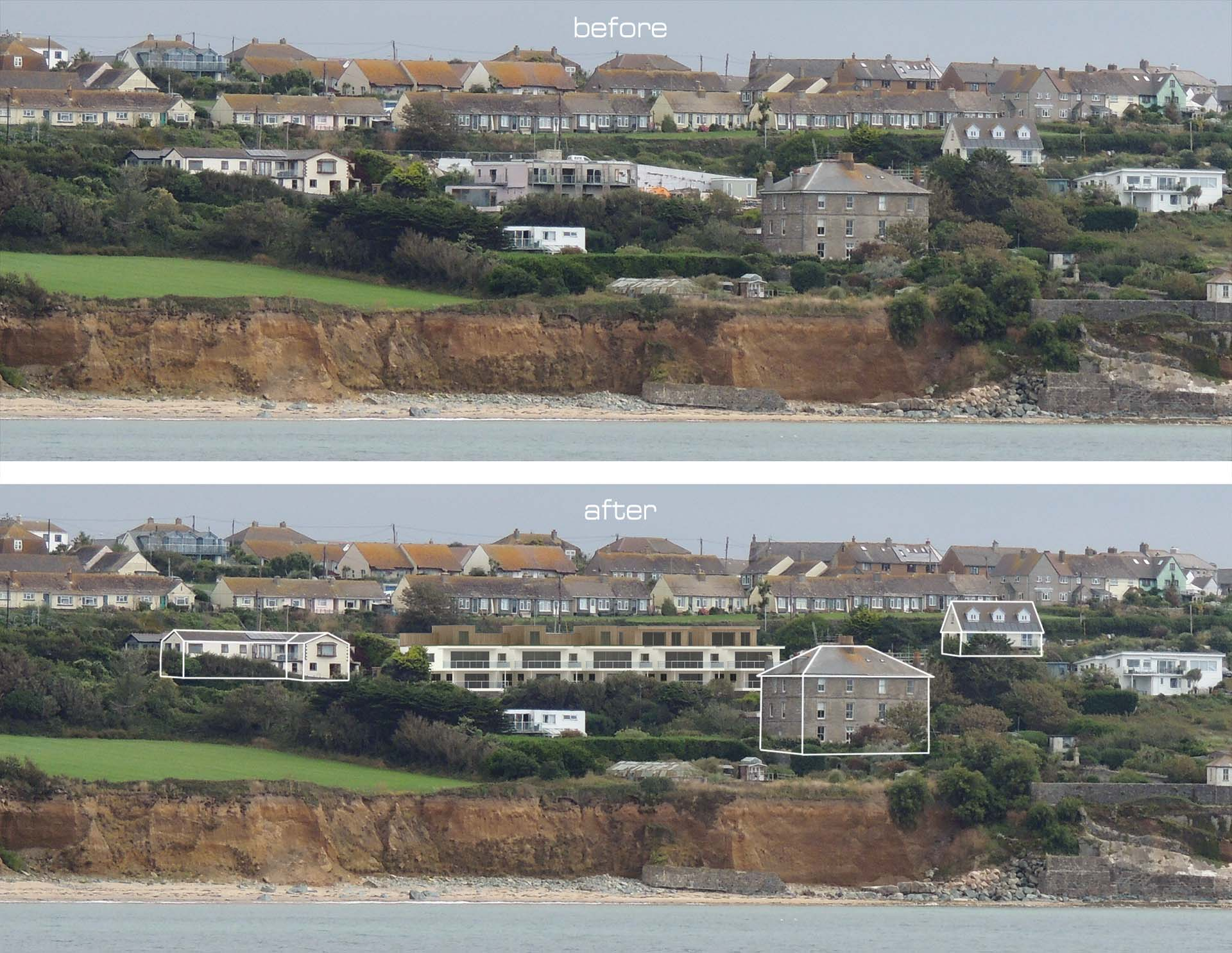 Cornwall architectural montage image